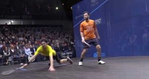 Pilley takes a dive in the third as Selby delivers knock-out punch