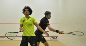 Ben Coleman shocks former champion Mathieu Castagnet in Canary Wharf Classic