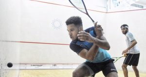 Richie Fallows edges past George Parker at Wimbledon
