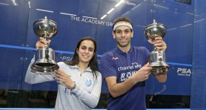 Mohamed ElShorbagy and Nour El Tayeb win Windy City Open titles in Chicago