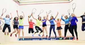 England Squash launch new campaign to attract more female players