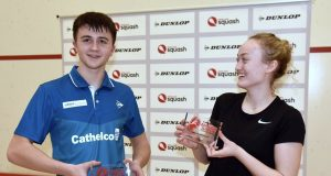 Nick Wall and Elise Lazarus claim English Junior titles