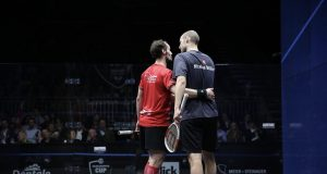 Gregory Gaultier springs back into action in Grasshopper Cup