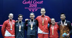 Squash celebrates 20 years at the Commonwealth Games