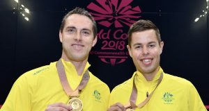 Golden finale for David Palmer and Joelle King in Commonwealth Games