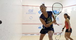 Joshna Chinappa stuns Nicol David with shock win in El Gouna