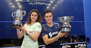 Allam British Open: Colombia's Miguel Rodriguez and Egypt's Nour El Sherbini claim 2018 titles