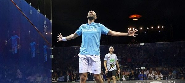 Marwan ElShorbagy Reaches Top Three in Men's May World Rankings