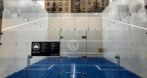 New York City Hails World's First Public Outdoor Squash Court