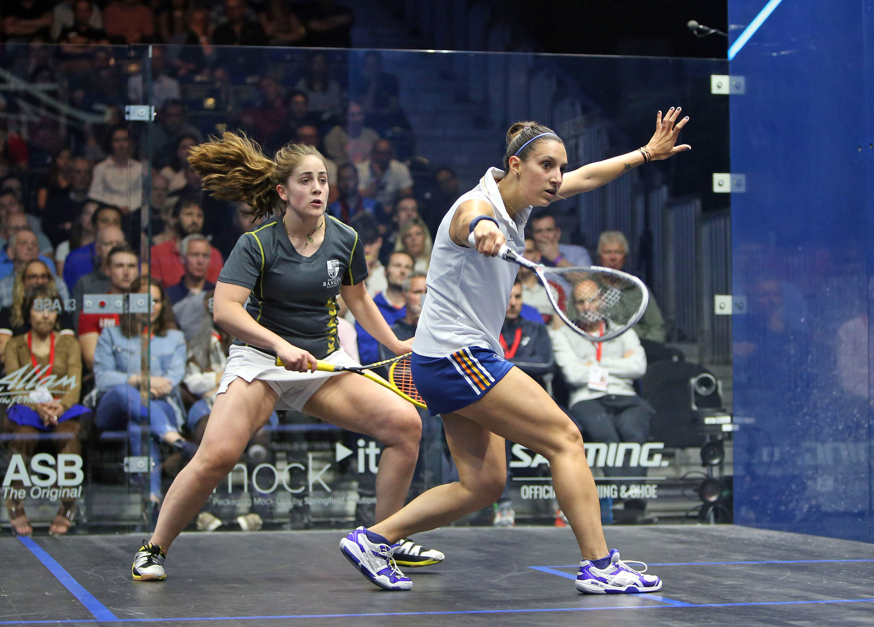 Squash Mad Raphael Kandra conjures up another magical display to