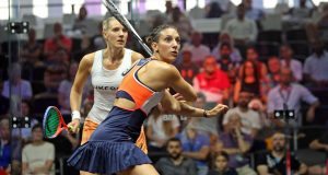 Defending champion Laura Massaro crashes out of PSA World Series Finals