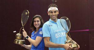 Mohamed ElShorbagy and Nour El Sherbini the pride of Egypt