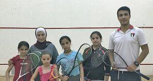 Squash Dream for Syrian refugees