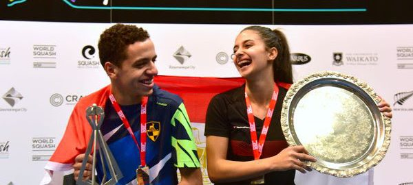 Tarek and Araby seeded to retain World Junior titles