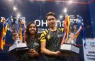 Sivasangari and Ivan win Malaysian Nationals