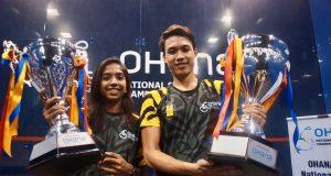 Sivasangari and Ivan win Malaysian Nationals