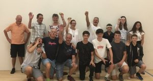 Wonderful night for squash as James Willstrop and Daryl Selby turn on the style at Lexden