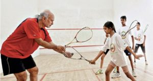 Satinder Bajwa: Top coach transfers lives through squash back home in India