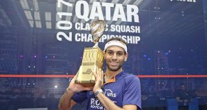 Mohamed ElShorbagy excited to defend Qatar Classic title