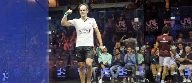 Kiwi Paul Coll topples Tarek Momen in US Open classic