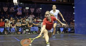 Tesni Evans topples Joelle King after dramatic fightback in US Open