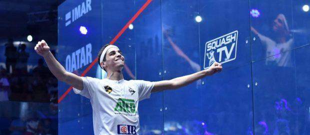 Ali Farag is Qatar Classic champion