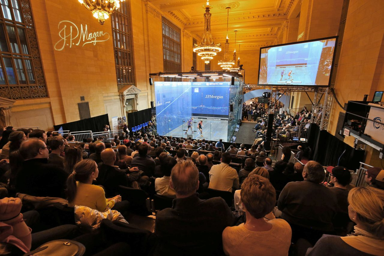 ToC on track to provide their biggest and best platform for squash