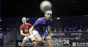 Mohamed ElShorbagy faces Max Lee in Black Ball opener
