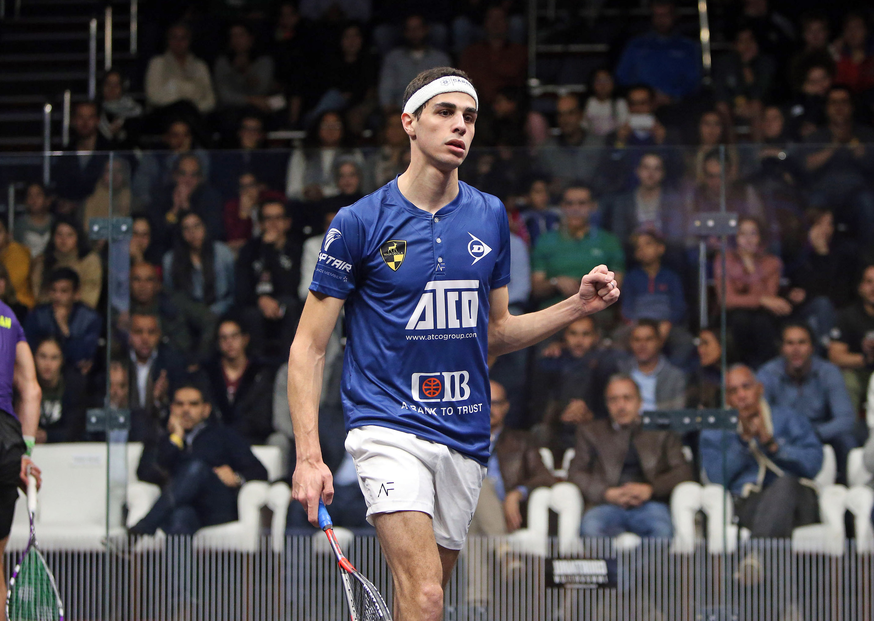 Egypts World No 2 Ali Farag And World No 9 Karim Abdel Gawad Will Meet In The Final Of The Cib Black Ball Squash Open Psa Platinum Event
