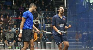 Asal and Mosaad walk tall at Black Ball Open