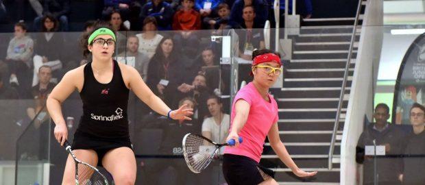 Egypt and Malaysia dominate Dunlop British Junior Open quarter-finals