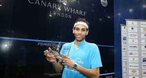 World champion Mohamed ElShorbagy back to defend Canary Wharf title