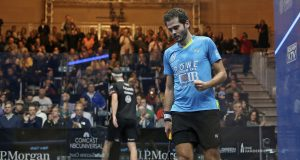 End of the line at Grand Central as Karim Abdel Gawad rocks reigning champion Simon Rösner