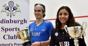 Paul Coll and Hania El Hammamy are Edinburgh champions