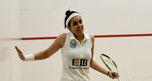 Nour El Tayeb meets Tesni Evans in Cleveland Classic final