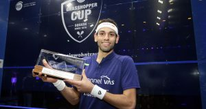 Mohamed ElShorbagy beats Tarek Momen to win Grasshopper Cup