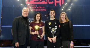 Egypt's Ali Farag and Nour El Sherbini crowned world champions in Chicago
