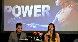 Nicol David engages media in Malaysia