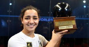Raneem El Welily wins Black Ball Open title in Cairo