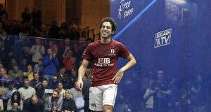 Tarek Momen stuns reigning champion Mohamed ElShorbagy to reach World Champs final