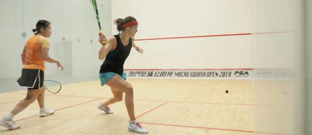 Annie Au saves four match balls and Saurav Ghosal beaten in Macau