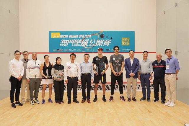 Diego Elias and Annie Au are new Macau Open champions