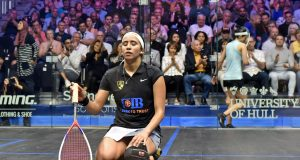 Camille Serme Joins Egyptian trio in British Open finals