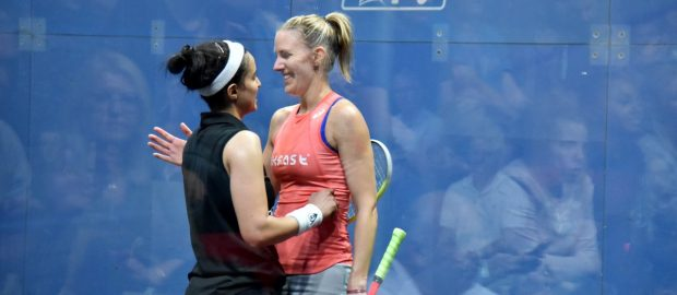 Nour El Tayeb makes it a Manchester farewell for Laura Massaro