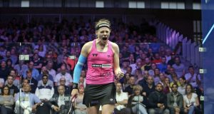 Champions out: Sarah-Jane Perry sinks Nour El Sherbini and Mohamed El Shorbagy gets his revenge over Miguel Rodriguez
