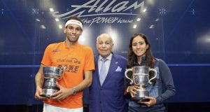 Third British Open title for Mohamed ElShorbagy and a first for Nouran Gohar
