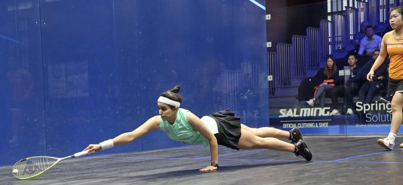 Nour El Tayeb fights back to beat Annie Au in British Open thriller - Squash Mad