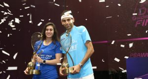 Superstars clash in PSA World Tour Finals in Cairo