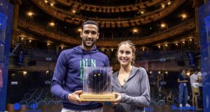 Nantes champions Declan James and Nele Gilis face tough draws