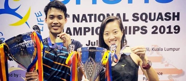 It's number three for Ivan Yuen and Low Wee Wern at the Malaysian Nationals